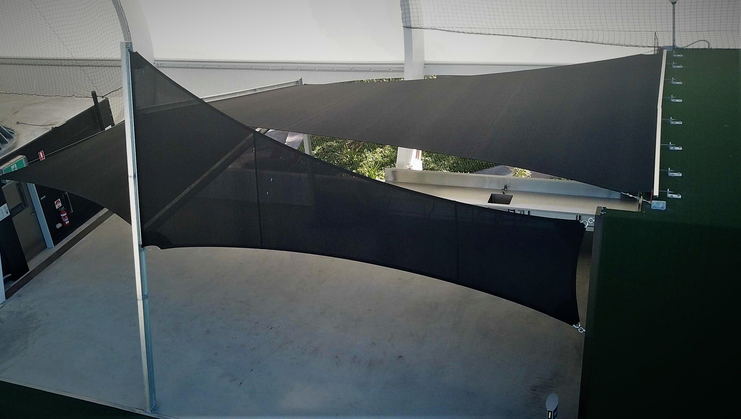 commercial shade sails brisbane_modiform shade sails_custom shade sails brisbane